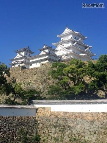 3年連続で1位に選ばれた姫路城(兵庫県姫路市)