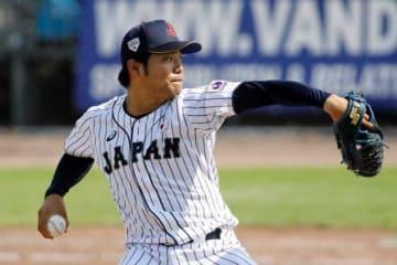 「第29回ハーレムベースボールウィーク」でも侍ジャパン大学代表に選出されていた松本航【写真:Getty Images】