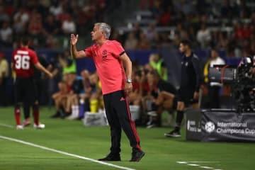 マンUを指揮するモウリーニョ photo/Getty Images