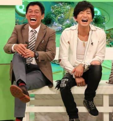 めっちゃ笑顔! - (C)フジテレビ