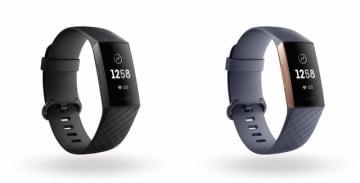 誘導ボタンを初導入したフィットネスウェアラブルデバイス「Fitbit Charge 3」11月発売