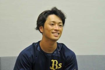 オリックス・福田周平【写真:篠崎有理枝】