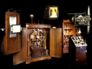 島津製作所の最初期の医療用エックス線装置「ダイアナ号」