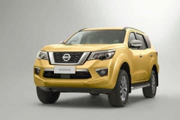 今春から中国で販売を始めた日産の大型スポーツタイプ多目的車(SUV)「テラ」。日産は中国での大型SUVとピックアップトラックの販売台数を22年度までに倍増させる計画だ