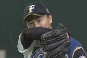 プロ初登板は5回途中2失点で降板となった日本ハム・宮台康平【画像:(C)PLM】