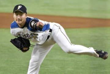 東大出身者としては51年ぶりに先発した日本ハムの宮台康平投手=23日、東京ドーム