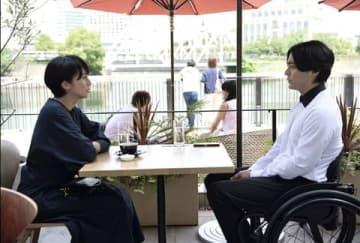 柴咲コウさんがゲスト出演する「dele」第5話の1シーン=テレビ朝日提供