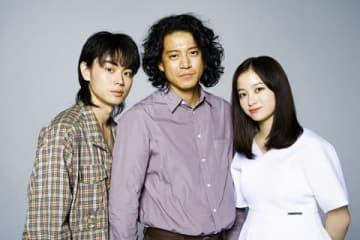 映画「銀魂2 掟は破るためにこそある」について語った菅田将暉さん、小栗旬さん、橋本環奈さん