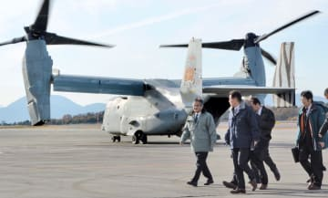 U.S. Osprey aircraft in Japan