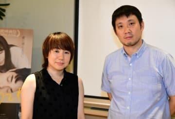 映画『寝ても覚めても』の原作者・柴崎友香と濱口竜介監督