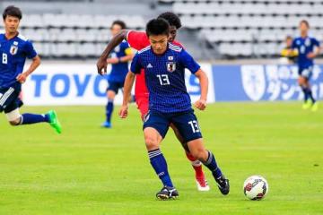 重要な試合で大仕事をやってのけた上田綺世 photo/Getty Images