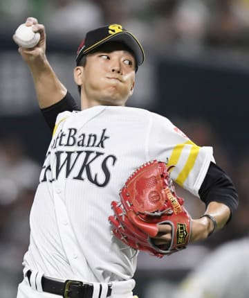 Kodai Senga of the SoftBank Hawks   2018082421174