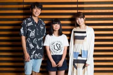 左からパーソナリティの藤木直人、岩渕麗楽選手、伊藤友里