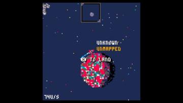 『No Man's Sky』のレトロ風ファンゲーム『Low Mem Sky』配信開始―壮大宇宙が8bit風に?