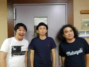 左から、和賀勇介、有吉弘行、松崎克俊