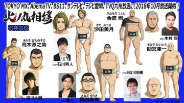 ▲公開されたキャラクタービジュアル