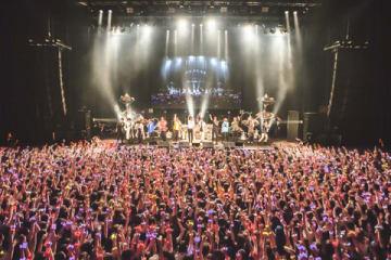 「ヒプノシスマイク -Division Rap Battle- 2nd LIVE@シナガワ≪韻踏闘技大會≫」の様子 撮影:粂井健太