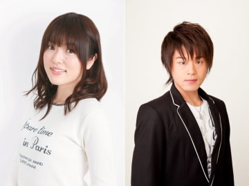 ▲左から新キャストの加隈亜衣さん、松岡禎丞さん
