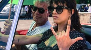 Asia Argento Posts Instagram Picture Of Her & Anthony Bourdain Days Before He Died