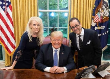 Trump meets with QAnon conspiracy theorist at White House