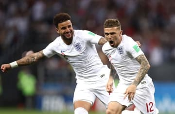 イングランド代表ではチームメイトの2人 photo/Getty Images