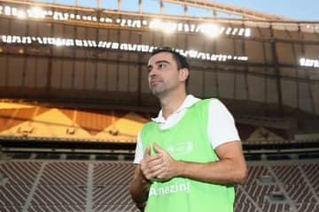 アル・サッドの勝利に貢献したシャビ photo/Getty Images