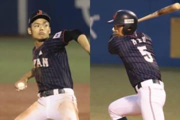 投打に存在感を見せた侍ジャパンU-18代表・根尾昂【写真:荒川祐史】