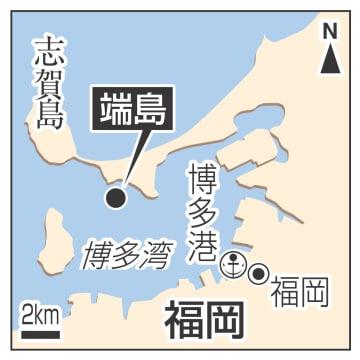 福岡・博多港、志賀島、端島
