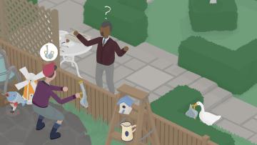 """ドタバタステルスACT『Untitled Goose Game』2019年発売―村に現れたのは…恐ろしい""""ガチョウ""""!?"""
