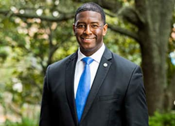Tallahassee mayor Andrew Gillum, Democratic nominee for Florida Governor