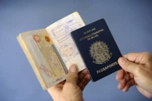 四世が使うブラジルのパスポート