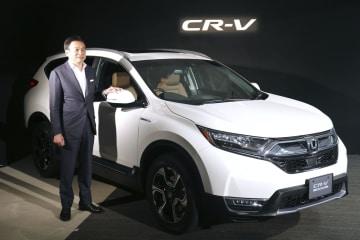 ホンダが国内で発売するスポーツタイプ多目的車「CR―V」