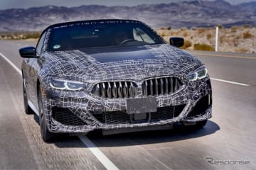 BMW8シリーズカブリオレ新型のプロトタイプ