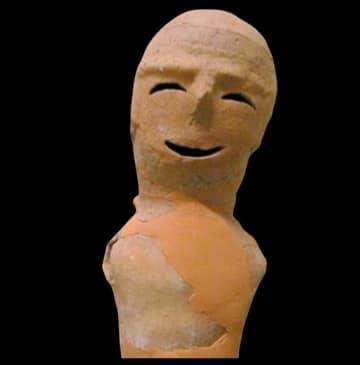 エントリーNO.26 「笑う埴輪」(「群馬HANI-1グランプリ」公式ページより)