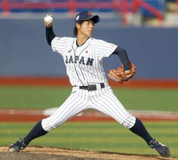 野球、日本V6懸け台湾と決勝