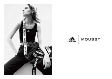 アディダス×MOUSSY、ヨガやフィットネスで着用できる秋冬シーズン新コレクション発売