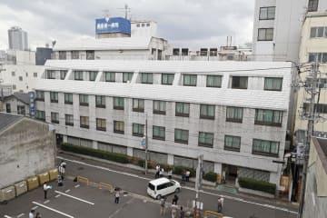岐阜市の「Y&M 藤掛第一病院」=31日午後