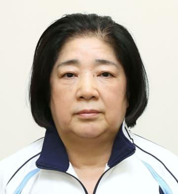 日本体操協会の塚原千恵子女子強化本部長、塚原光男副会長