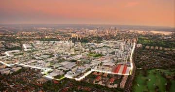 グリーン・スクエアは、シドニーのビジネス中心街へも、空港へも便利なロケーション 【©City of Sydney】