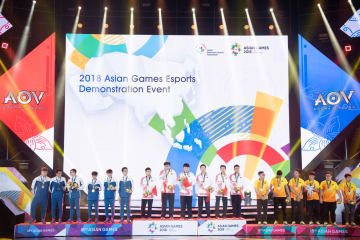 第18回アジア大会 eスポーツ公開競技「リーグ·オブ·レジェンド」中国が金