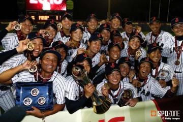 【女子野球W杯】日本が台湾に勝利し大会6連覇達成 里が3大会連続MVP