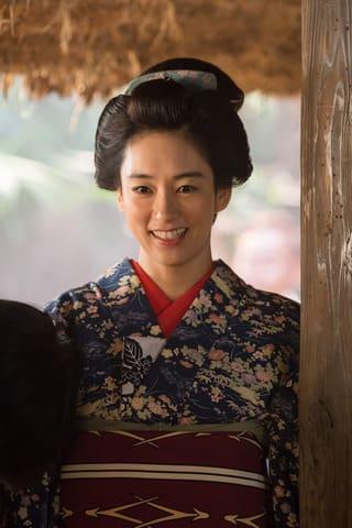 NHKの大河ドラマ「西郷どん」で坂本龍馬の妻・お龍を演じる水川あさみさん (C)NHK