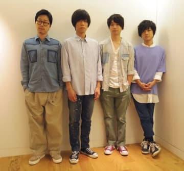 連続ドラマ「グッド・ドクター」の主題歌「Hikari」をリリースしたandropの(左から)前田恭介さん、内澤崇仁さん、佐藤拓也さん、伊藤彬彦さん