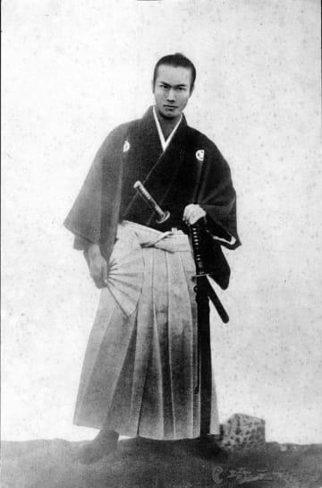 幕末の剣術家・渋沢平九郎(渋沢史料館提供)