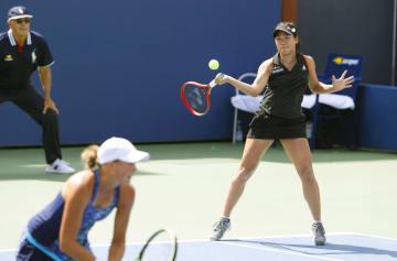Tennis: Nao Hibino and partner Oksana Kalashnikova
