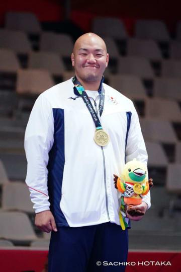 最重量級でメダルを獲得し、次のステップに繋げた園田新