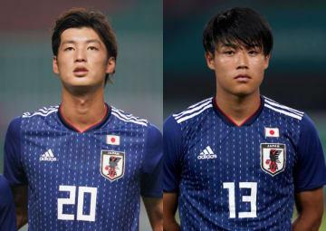 ベストイレブンに選ばれたDF立田悠悟(左)とFW岩崎悠人(右)photo/Getty Images