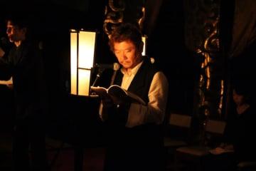 国民的声優の茶風林が語る「朗読と怪談のシンクロ率」-島根県松江市で開催する怪談朗読会「酒林堂」とは