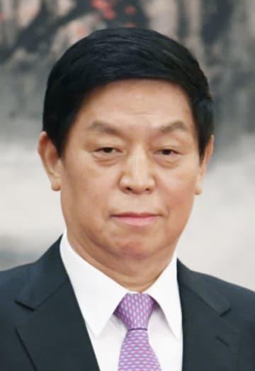 中国の栗戦書・全人代常務委員長