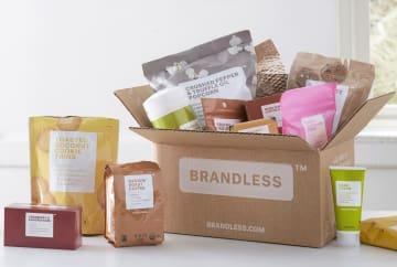 「ブランドレス」が扱う商品。オーガニックやグルテンフリーといった健康志向の食品をすべて1アイテム3ドルで統一した価格戦略などが、ミレニアル世代に受け入られている(C)BRANDLESS